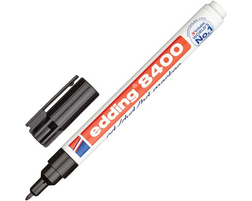 Маркер для CD Edding E-8400-1 черный 0.75 мм - (49962К)