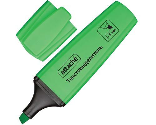 Текстовыделитель Attache Palette зеленый толщина линии 1-5 мм - (426885К)
