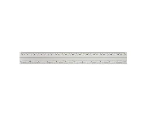 Линейка Attache Line 30 см металлическая - (144629К)