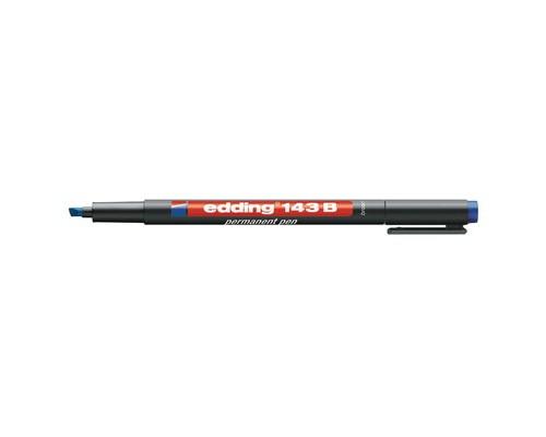 Маркер для пленок и глянцевых поверхностей Edding E-143-3 B синий толщина линии 1-3 мм - (537635К)