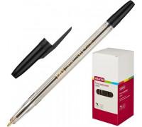 Ручка шариковая Attache Corvet черная толщина линии 0.7 мм - (447474К)