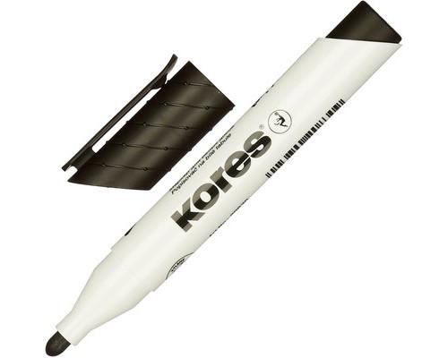 Маркер для досок Kores 20830 черный толщина линии 3 мм - (204452К)