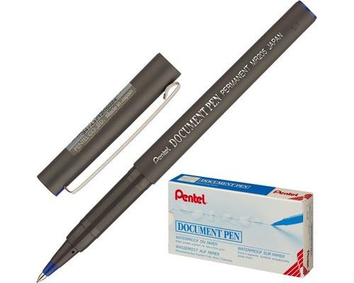 Роллер Pentel Document Pen синий толщина линии 0.25 мм - (216861К)