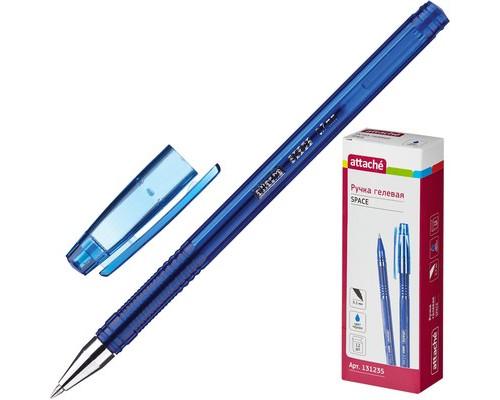 Ручка гелевая Attache Space синяя толщина линии 0.5 мм - (131235К)