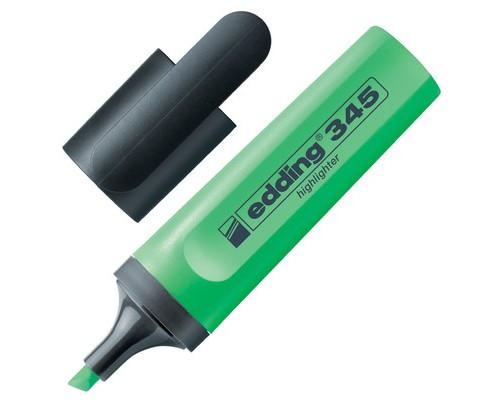 Текстовыделитель Edding E-345-11 зеленый толщина линии 1-5 мм - (35729К)