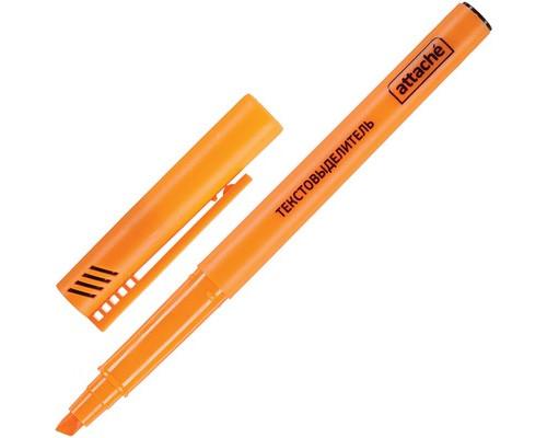 Текстовыделитель Attache оранжевый толщина линии 1-3 мм - (155803К)