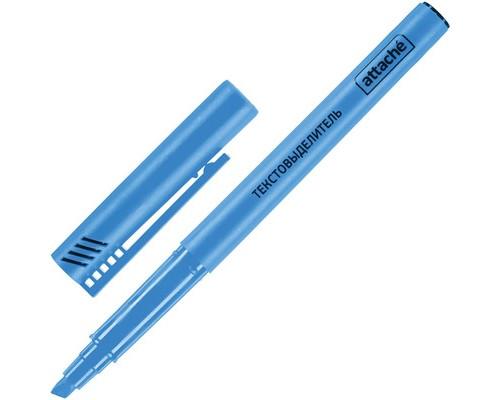 Текстовыделитель Attache синий толщина линии 1-3 мм - (155804К)