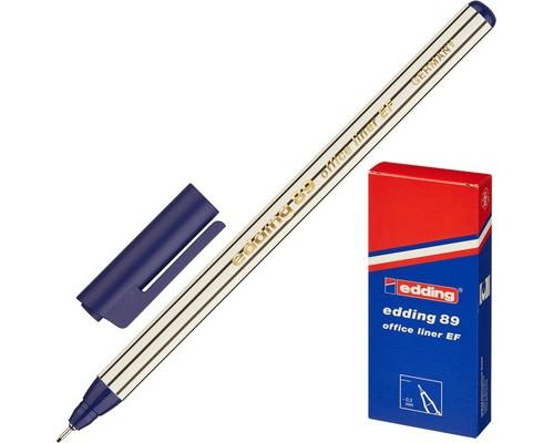 Линер Edding E-89-003 синий толщина линии 0.3 мм - (42832К)