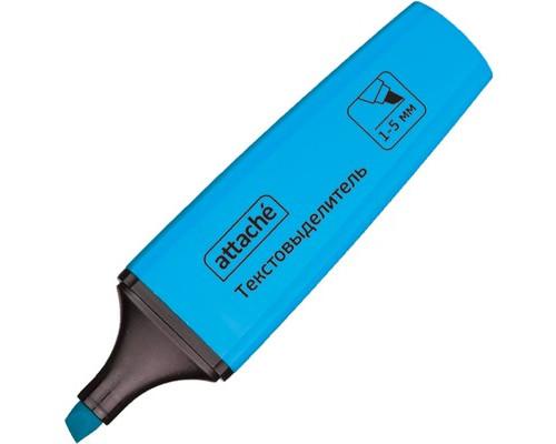 Текстовыделитель Attache Palette голубой толщина линии 1-5 мм - (426888К)