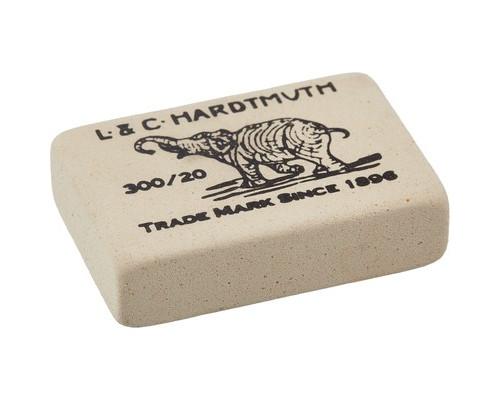 Ластик Koh-I-Noor 300-20 каучуковый белый - (1105К)
