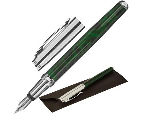 Ручка перьевая Verdie Ve-436F Exact стальной корпус - (634312К)