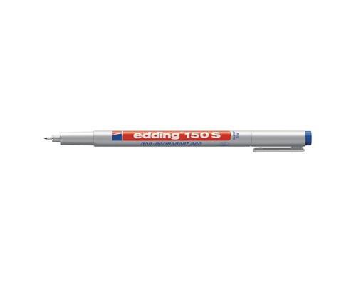 Маркер для пленок и глянцевых поверхностей Edding E-150-3 S синий толщина линии 0.3 мм - (537639К)