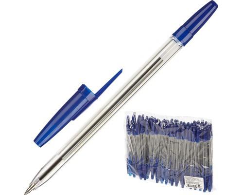 Ручка шариковая масляная Attache Оптима РО20 синяя толщина линии 0.7 мм - (505018К)