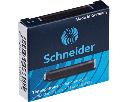 Чернила в патронах Schneider черные 6 штук в упаковке - (78171К)