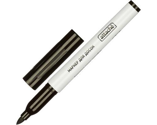 Маркер для досок Attache черный толщина линии 1-3 мм - (555141К)