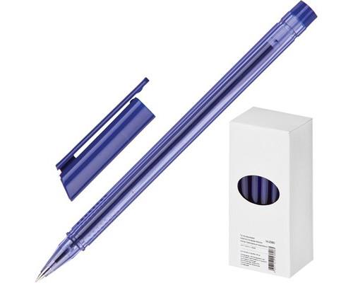 Ручка шариковая Attache Atlantic трехгранный корпус синяя толщина линии 0.5 мм - (374931К)