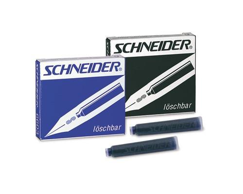 Чернила в патронах Schneider синие 6 штук в упаковке - (78172К)