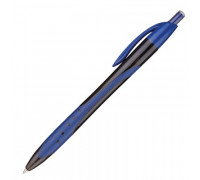 Ручка шариковая масляная Attache Eclipse синяя толщина линии 0.6 мм - (569091К)