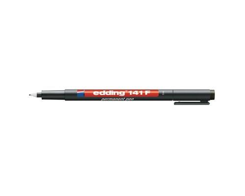 Маркер для пленок и глянцевых поверхностей Edding E-141-1 F черный толщина линии 0.6 мм - (537631К)