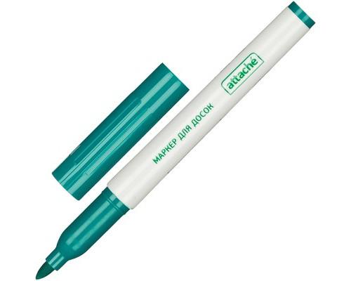 Маркер для досок Attache зеленый толщина линии 1-3 мм - (555144К)
