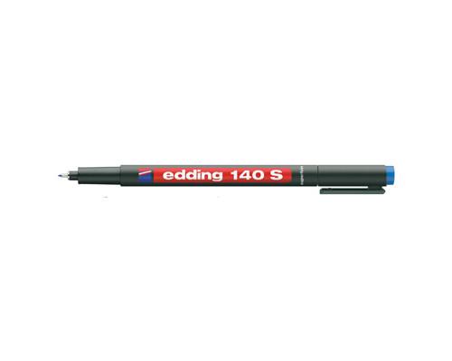 Маркер для пленок и глянцевых поверхностей Edding E-140-3 S синий толщина линии 0.3 мм - (87130К)