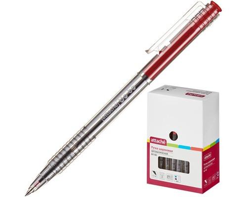 Ручка шариковая автоматическая Attache Bo-bo красная толщина линии 0.5 мм - (389768К)