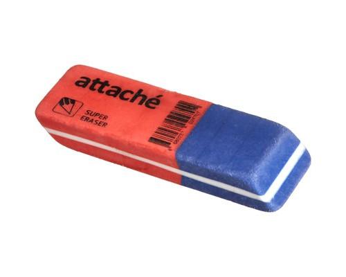 Ластик Attache скошенная форма для ручки и карандаша 59х19х9мм - (521491К)