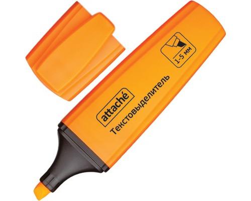 Текстовыделитель Attache Palette оранжевый толщина линии 1-5 мм - (426887К)
