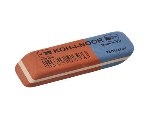 Ластик Koh-I-Noor 6521-40 комбинированный каучуковый - (1012К)