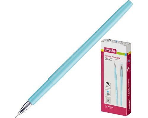 Ручка гелевая Attache Laguna голубая толщина линии 0.3 мм - (389739К)