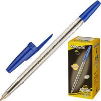 Ручка шариковая Universal Corvina синяя толщина линии 0.7 мм - (599К)