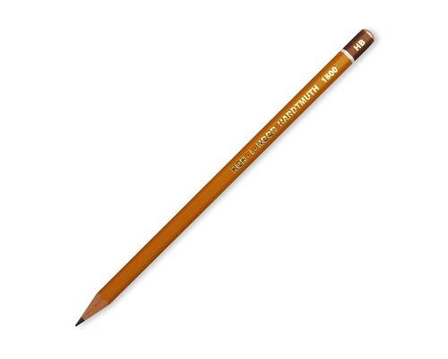 Карандаш чернографитный Koh-I-Noor 1500 HB без ластика заточенный - (43314К)