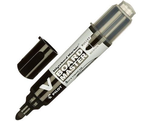 Маркер для досок Pilot WBMA-VBM-M-BG черный толщина линии 1-3 мм - (206943К)