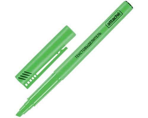 Текстовыделитель Attache зеленый толщина линии 1-3 мм - (155802К)