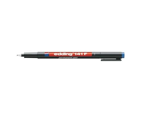 Маркер для пленок и глянцевых поверхностей Edding E-141-3 F синий толщина линии 0.6 мм - (537632К)