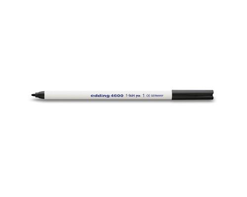 Маркер по ткани Edding E-4600-1 черный толщина линии 1 мм - (53772К)