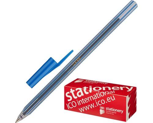 Ручка шариковая ICO Orient синяя толщина линии 0.5 мм - (44693К)