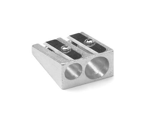 Точилка AG 1006 двойная металлическая - (201931К)