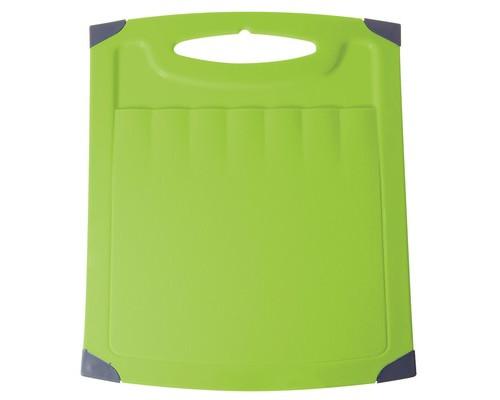 Доска разделочная пластиковая Plastic Republic 260x230 мм в ассортименте - (220026К)
