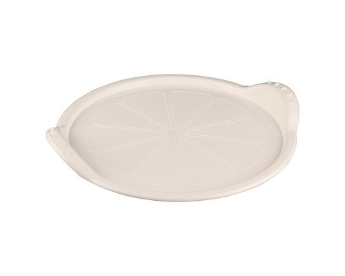 Поднос круглый пластиковый Phibo 285х260 мм белый - (413876К)