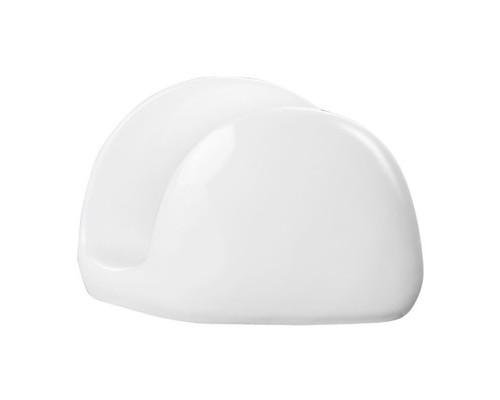 Салфетница Wilmax фарфоровая белая 11x8x3 см - (272347К)