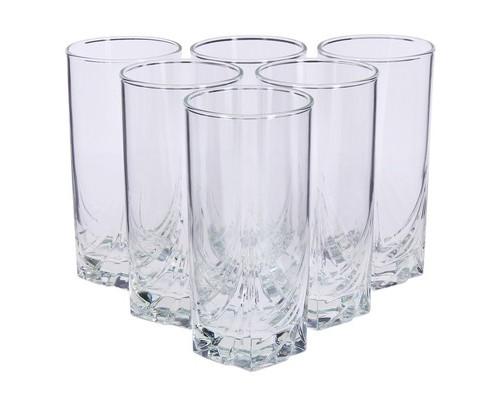 Набор стаканов Luminarc Аскот стеклянные высокие 330 мл 6 штук в упаковке - (692768К)