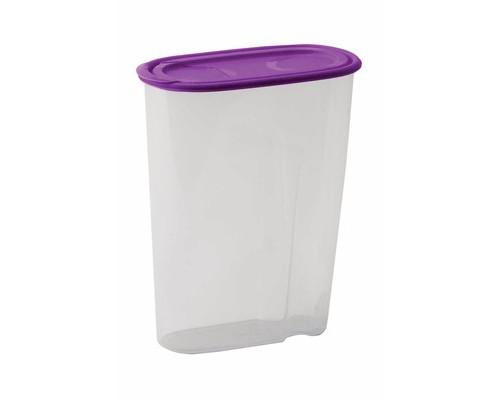 Банка для сыпучих продуктов Idea пластиковая фиолетовая 1.5 л - (515740К)