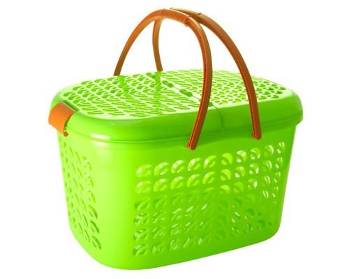 Корзина-переноска Plastic Republic пластиковая - (605813К)
