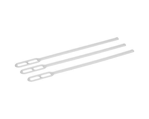 Размешиватель одноразовый белый 120 мм 500 штук в упаковке - (274119К)