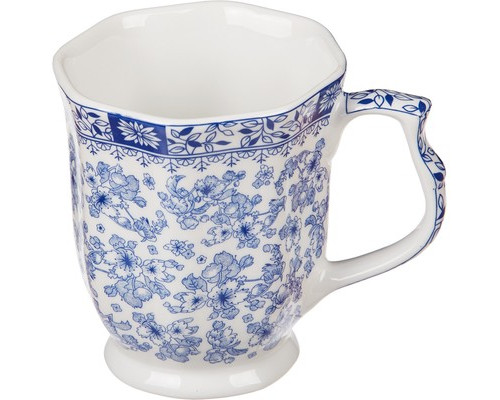 Кружка керамическая Royal Porcelain Гжель 350 мл - (493243К)