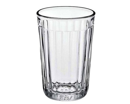 Стакан ОЗС граненый стеклянный высокий 250 мл - (421427К)