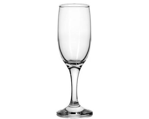 Набор бокалов для шампанского Pasabahce Бистро стекло 190 мл 12 штук в упаковке - (691197К)