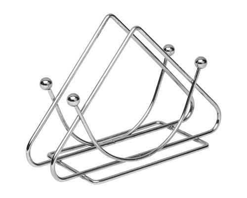 Салфетница Мультидом Треугольник стальная - (274506К)