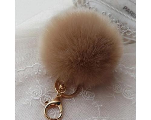 Брелок с кольцом Пушистый брелок кор. БР-002